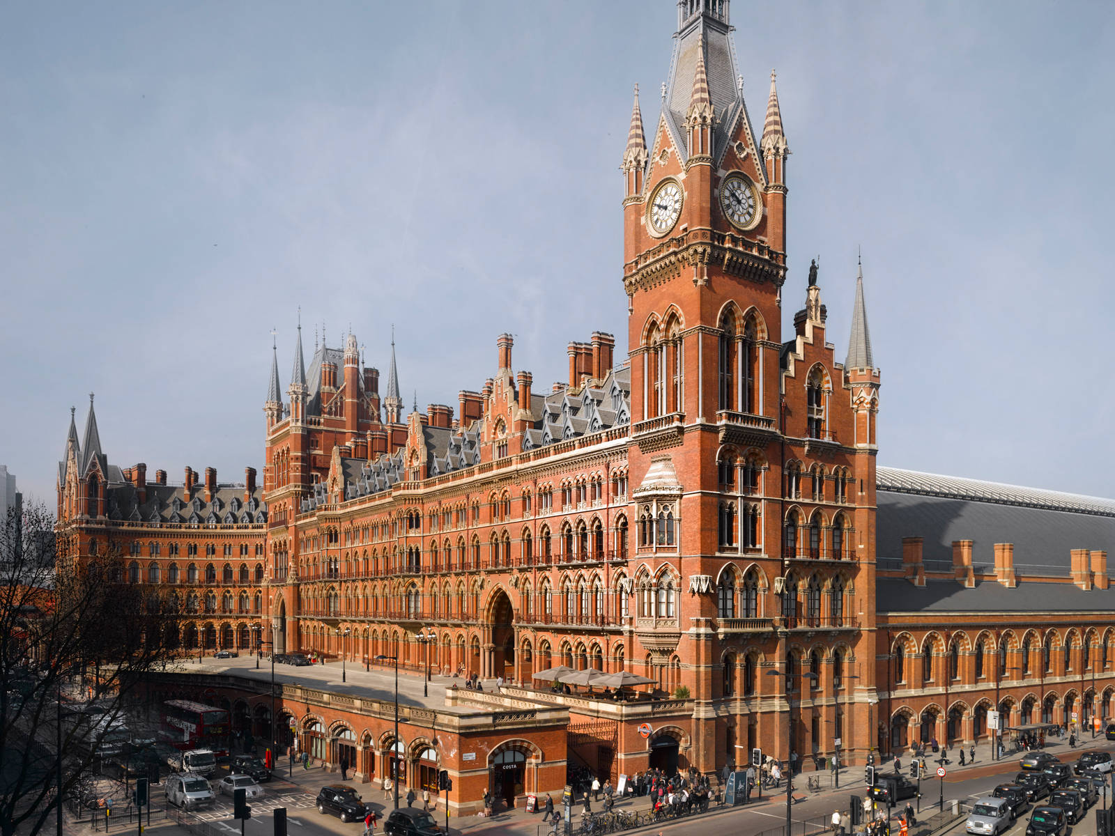 Saint Pancras Renaissance Hotel - Manhattan Loft Corporation - property refurbishment
