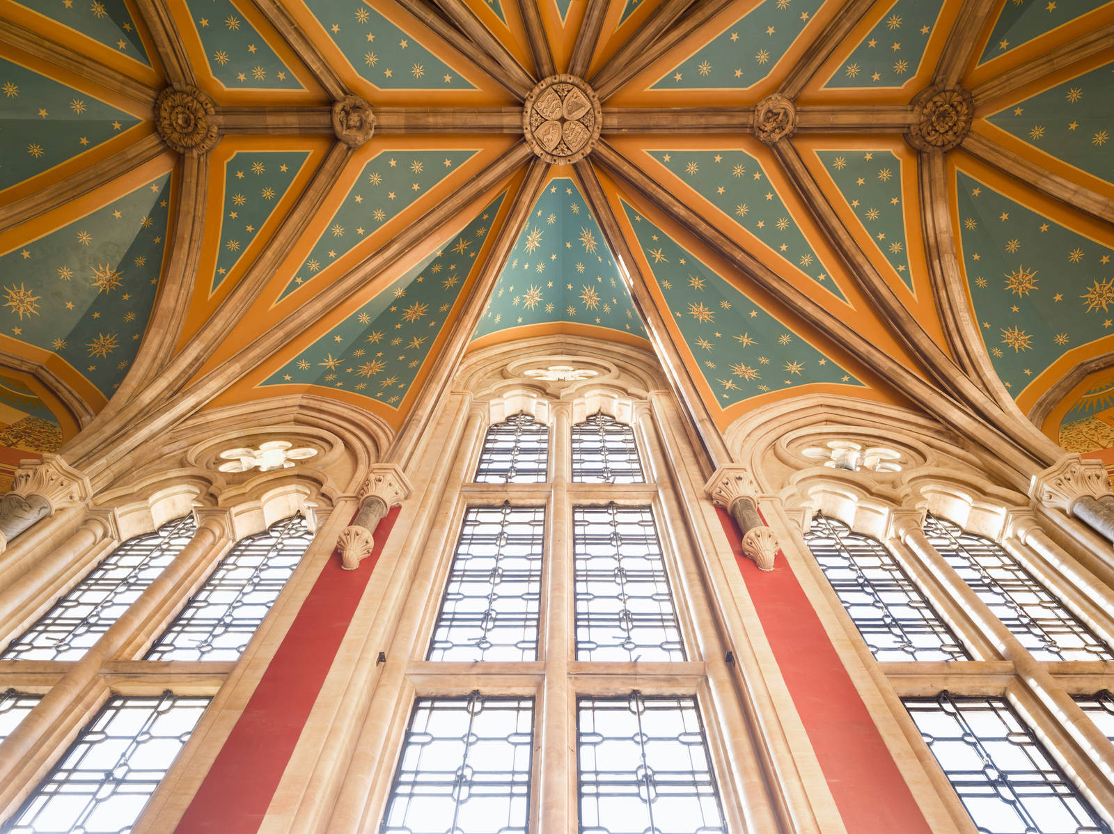 Saint Pancras Hotel ceiling - Manhattan Loft Corporation - property refurbishment