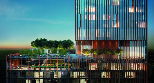 Manhattan Loft Gardens, hotel & residential development in Stratford.