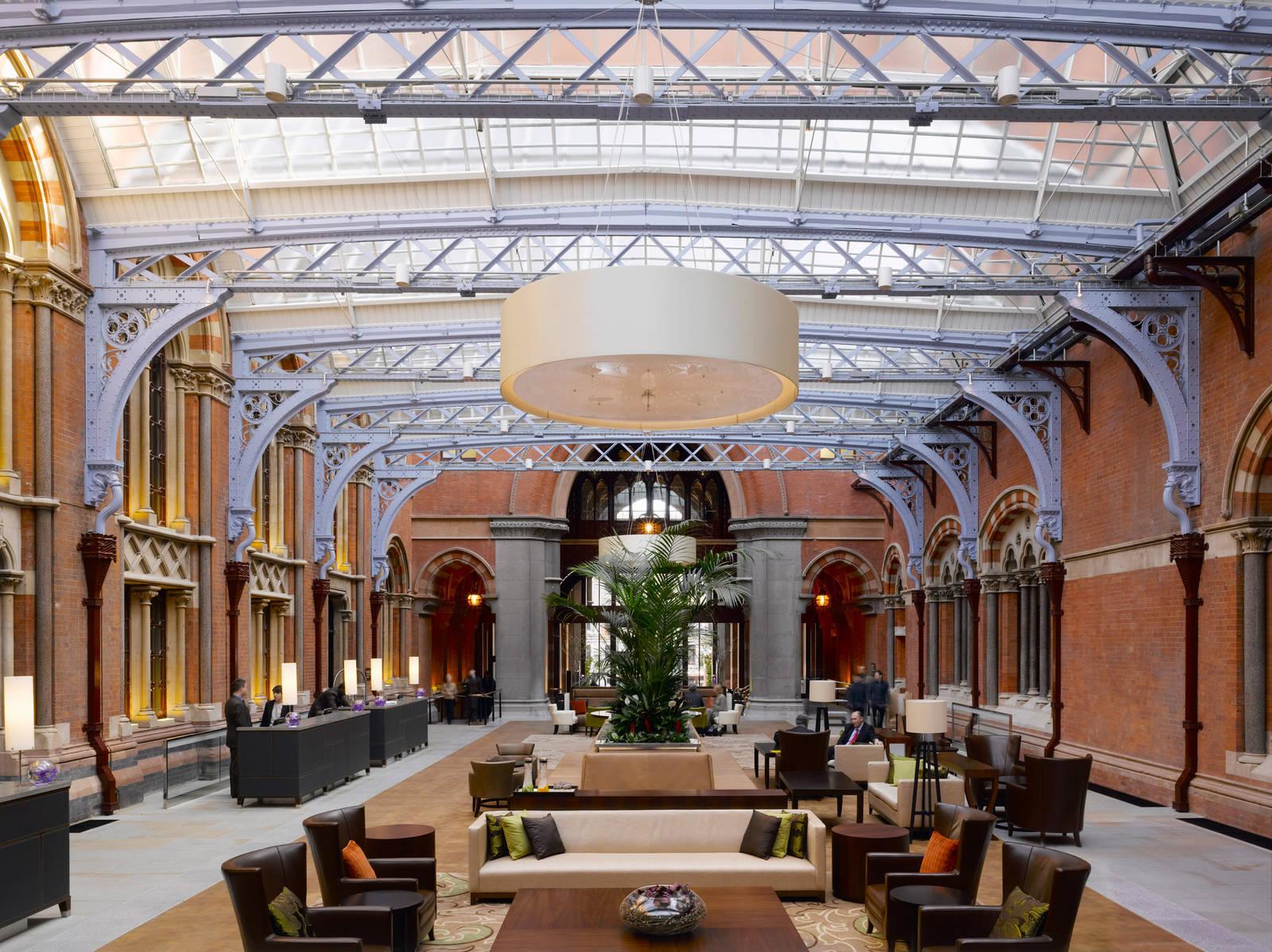 St Pancras Renaissance Hotel Luxury Hotel Restoration