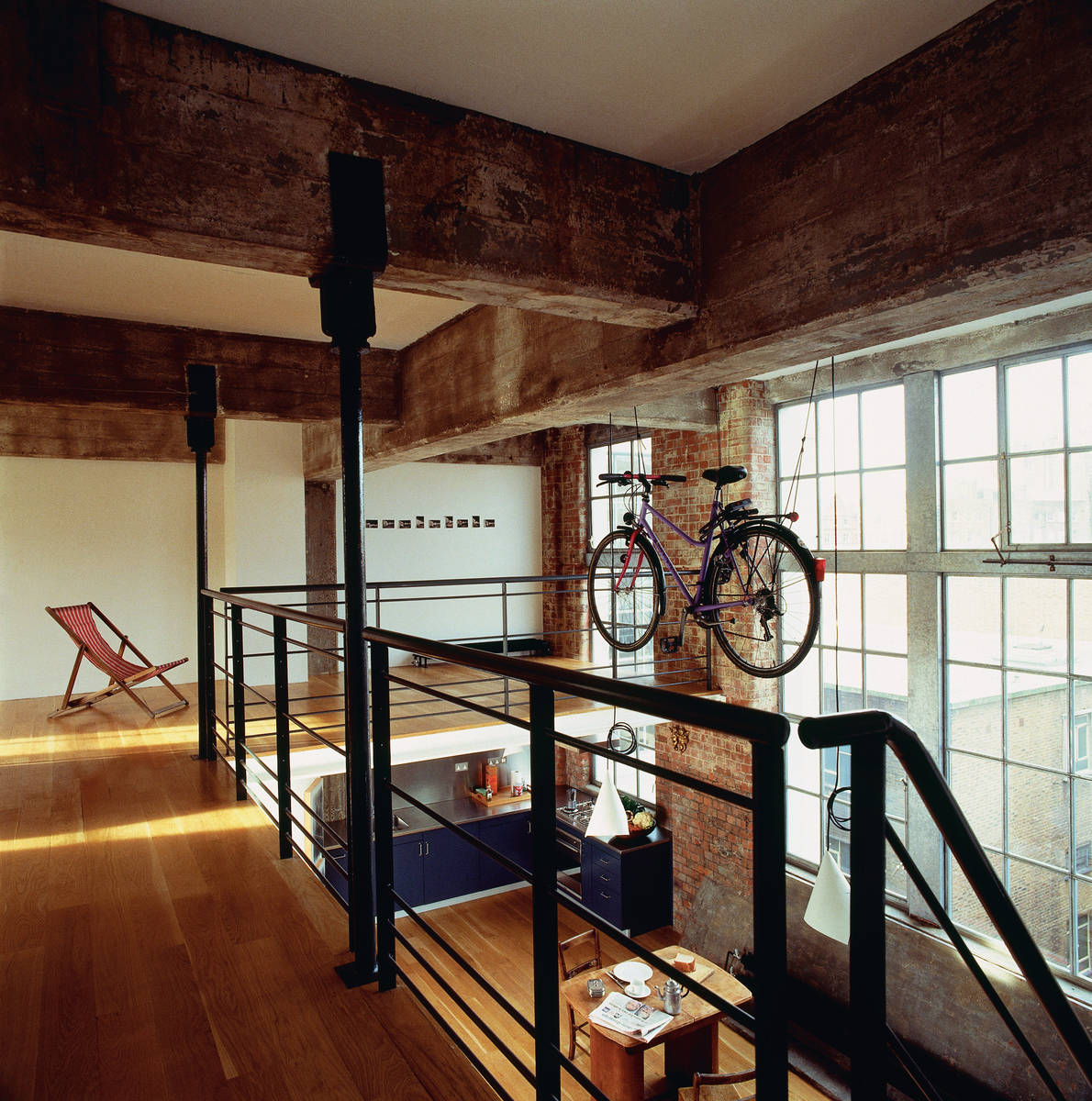 Mezzanine Office Design Industrial Loft